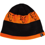 Czapka FOX Black Orange Beanie