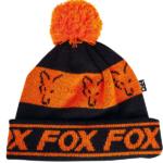 Czapka FOX Black Orange – Lined Bobble Hat