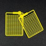 Mikro stopery – żółte do kulek i pelletu