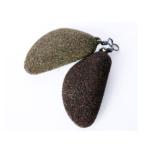 Stalomax ciężarek Małż brązowy-zielony