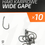 Teflonowe haki karpiowe WIDE GAPE 10