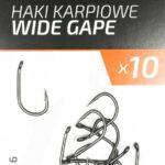 Teflonowe haki karpiowe WIDE GAPE 6