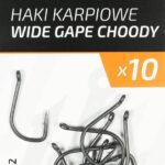 Teflonowe haki karpiowe WIDE GAPE CHODDY 2