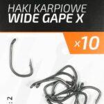 Teflonowe haki karpiowe WIDE GAPE X 2