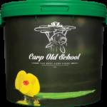 wiadro carp old school żółta lilia 17 l karpiowe